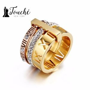 18K laminate Gold Ring, Touche Jewelry