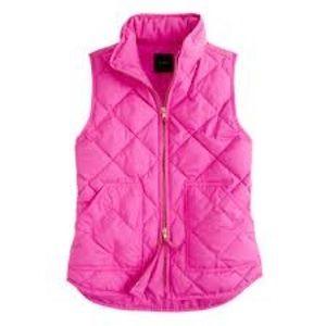 J. Crew Pink Vest XXS