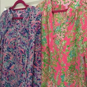 Two lilly Pulitzer Elsa's EUC size medium