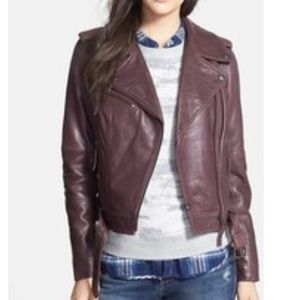 Treasure & Bond leather jacket