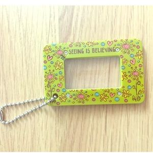 """Natural Life """"seeing is believing"""" luggage tag"""