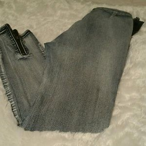 Stone washed skinny jeans. Size small.