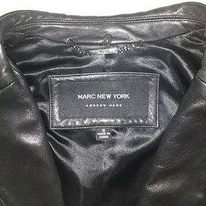 Black Genuine Buttery Leather Jacket size S