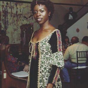 True Vintage 1970s Gunne Sax Renaissance Maxi Gown
