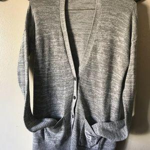 Gilly Hicks womans Grey cardigan