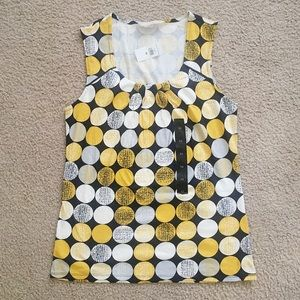 Banana Republic yellow sleeveless top XS