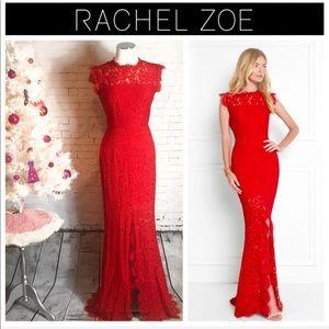 Rachel Zoe Estelle Cut-Out Back Maxi Dress Size: 4