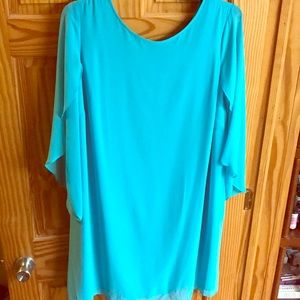 Beautiful Turquoise dress- mid length