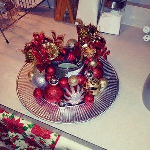 Home made christmas decoration