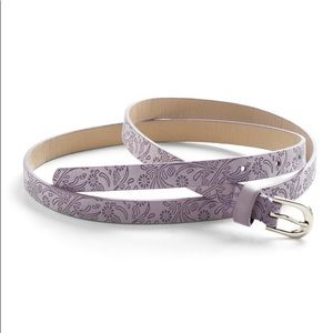Modcloth a little lavender belt