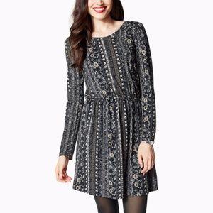 folksy floral print dress, size XL