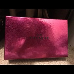 Brand new in box coach wristlet