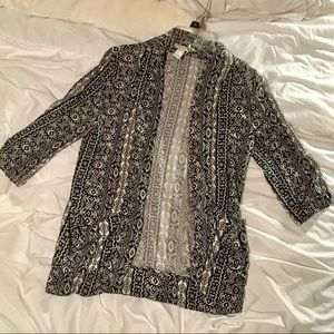 Printed Kimono/Cardigan