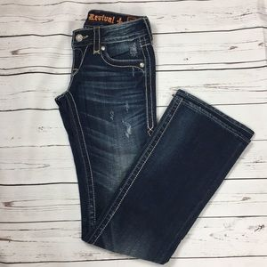 Rock revival Eva boot cut dark wash size 26