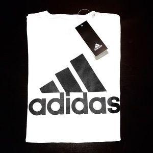 New Adidas white T-shirt