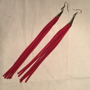 Jewelry - 70% off Leather earrings