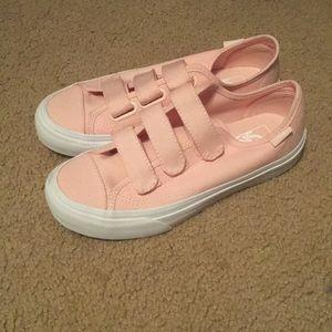 Brand New Pink Prison Vans