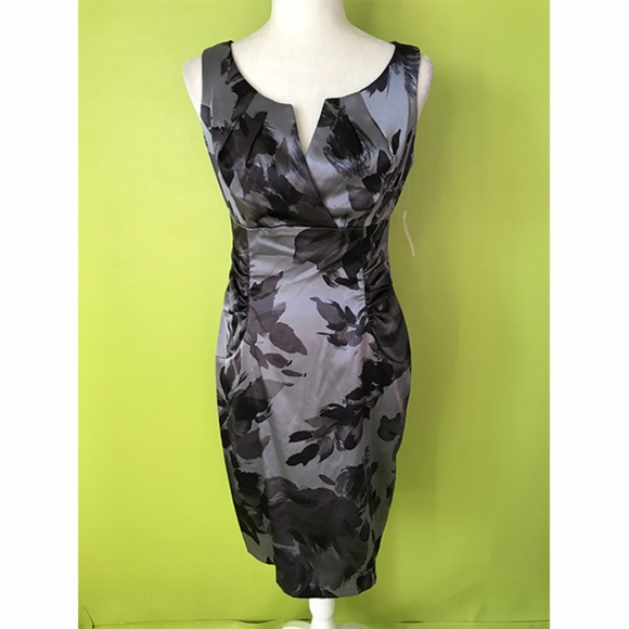 f785169418cc Dressbarn Dresses | Career Formal Gray Sheath Dress Sz 6 | Poshmark