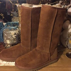 Ugg Classic Tall Boots  ~ Chestnut