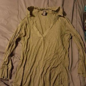 Rue 21 long sleeve collard shirt