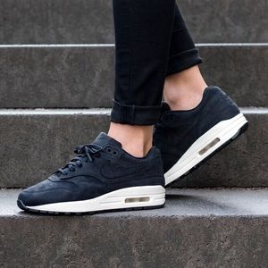 611845b7638 Nike Shoes - Women s Nike Air Max 1 Pinnacle Black Sail Shoes