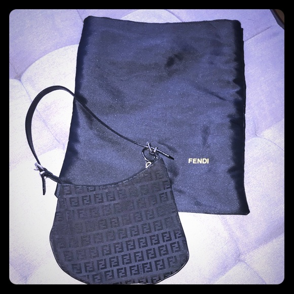 Fendi Handbags - Fendi Monogram Saddle Bag e43234d0a8b75