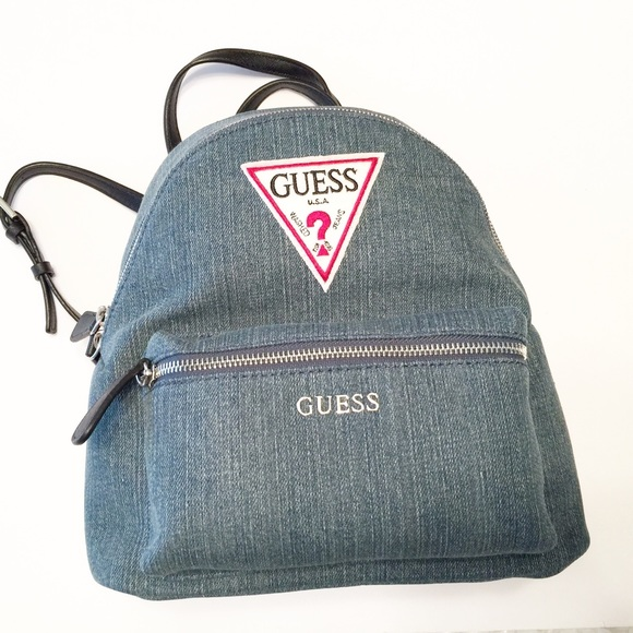 Guess Bags   Nwt Genuine Zayn Backpack Purse Bag Retro   Poshmark a1857b74e8