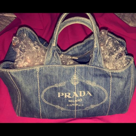 35b5d4d48b6aee ... aliexpress prada canapa tote bag denim purse womans 373a5 e2329