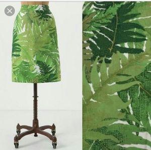 Vanessa Virginia Talipot Palm Skirt
