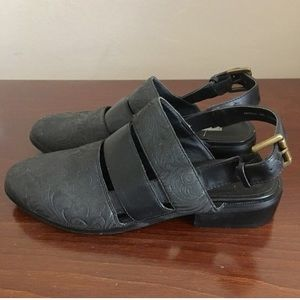Kimchi Blue cut out loafers 7