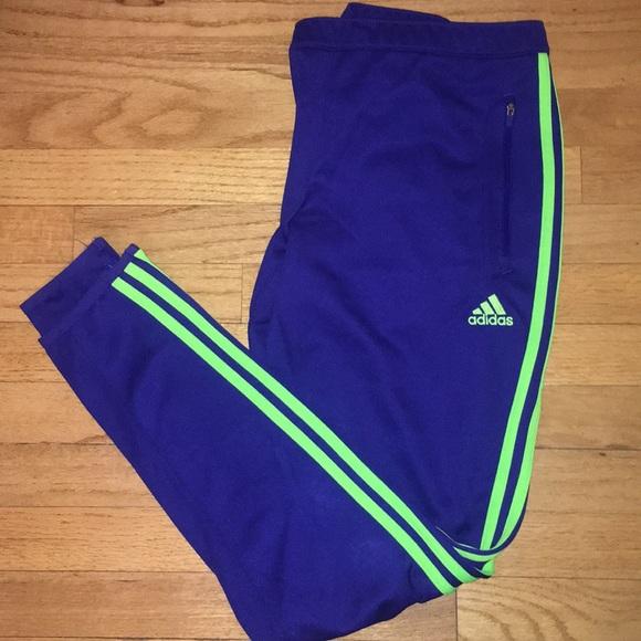f3494c63f174 adidas Pants - NWOT Adidas Women s Tiro 17 Pant Blue Green Stripe