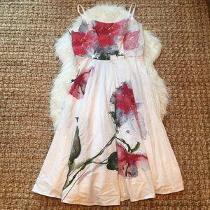 Mario Balthazar Watercolor Dress