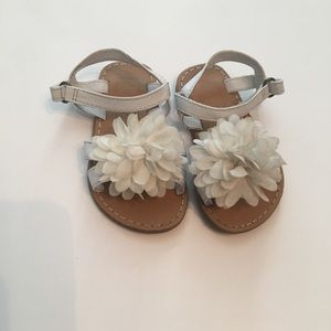 EUC Crazy8 White Sandals Size: 4
