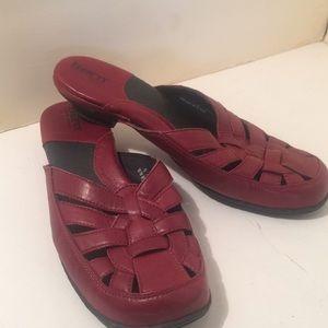 Shoes - Born kitten heels slip on mule type shoes