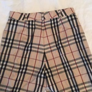 ce07609538da74 Burberry Pants - BurberryS Vintage Check dress pants