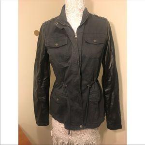 AEROPOSTALE jacket w/faux leather sleeves