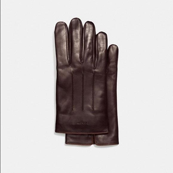 486782b81c2b5 Coach Accessories   Tech Nappa Leather Gloves   Poshmark