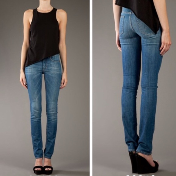 acne jeans hex pure