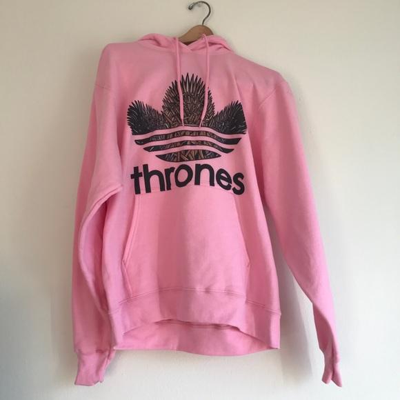 Hoodie Game Of Thrones Pink Sweatshirt shQtrdC