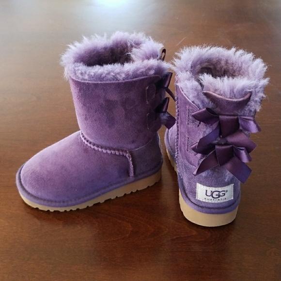 UGG Shoes | Toddler Girl Purple Bailey