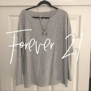 Forever 21 / gray knit sweater