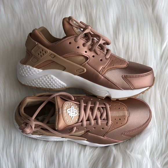 best service c2d82 5c5ee Rose Gold Huaraches LIMITED EDITION