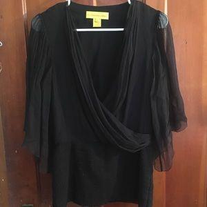 Catherine Maladrino Silk Shirt