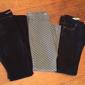 Pants - 3 pair of pants.
