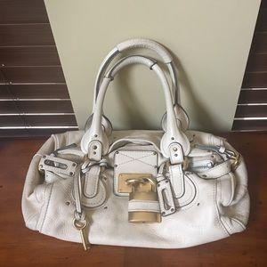 Chloe Paddington padlock and key handbag