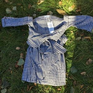 Dresses & Skirts - Gingham tie dress