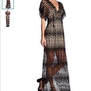 🆕 FREE PEOPLE lace dress gown-holidays rt $400