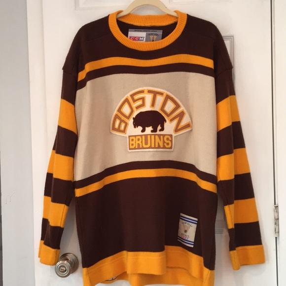dae183b1f CCM Other - Vintage Boston Bruins Sweater - 1927 Team Replica