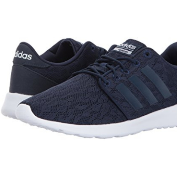 cheap for discount cf32d 6959e adidas Womens Cf Qt Racer Running Shoes