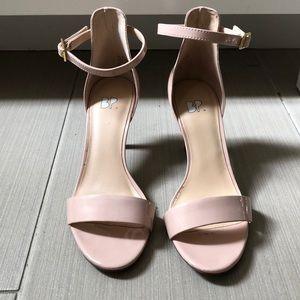 Pink ankle strap heels by BP Nordstrom